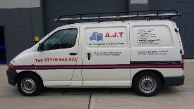 AJT Electrical & Air Compressors - Work Van